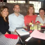 Over dinner, Abby, Ryan, Cate, Jackie and I brainstormed titles and talking points for their shameless pitches.