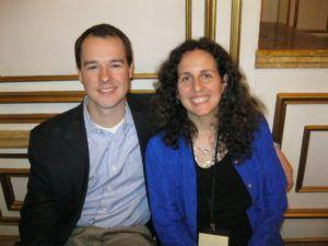 Digital Media Strategist Rusty Shelton and Book writing coach Lisa Tener