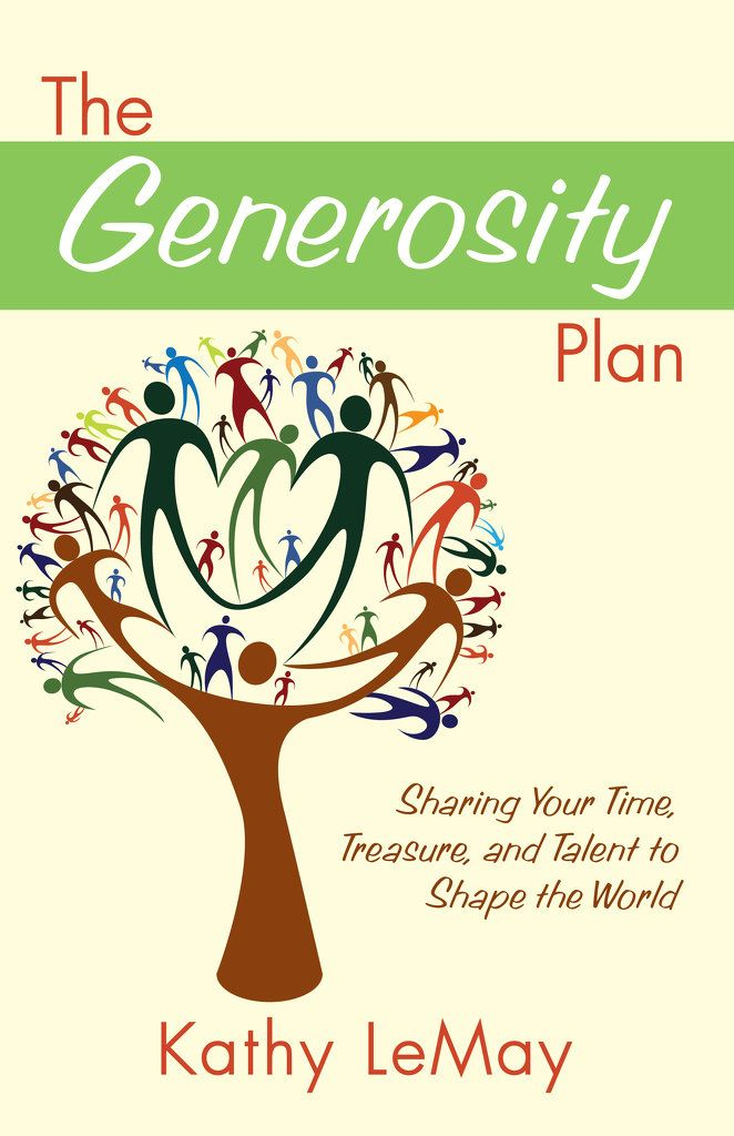 book proposal for the generosity plan