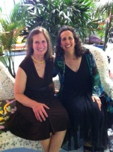 literary agent Jeanne Fredericks and book writing coach Lisa Tener