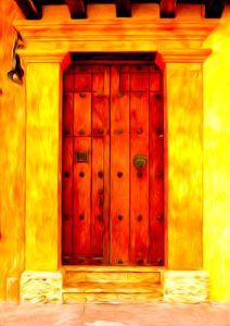 door to wealth