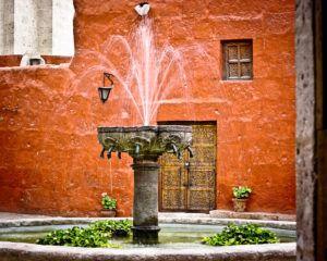 creative photo of fountain