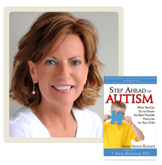Anne Burnett author of Step Ahead of Autism