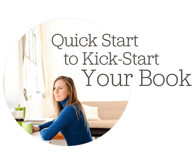 start writing book
