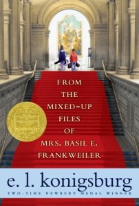 From the Mixed Up Files of Mrs. Basil L Frankweiler