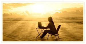 writing sunset