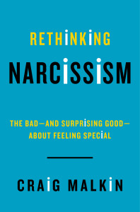 book cover rethinking narcissism