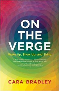 book cover on the verge