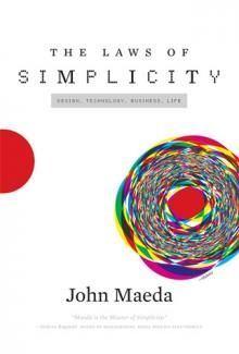 book cover laws of simplicity