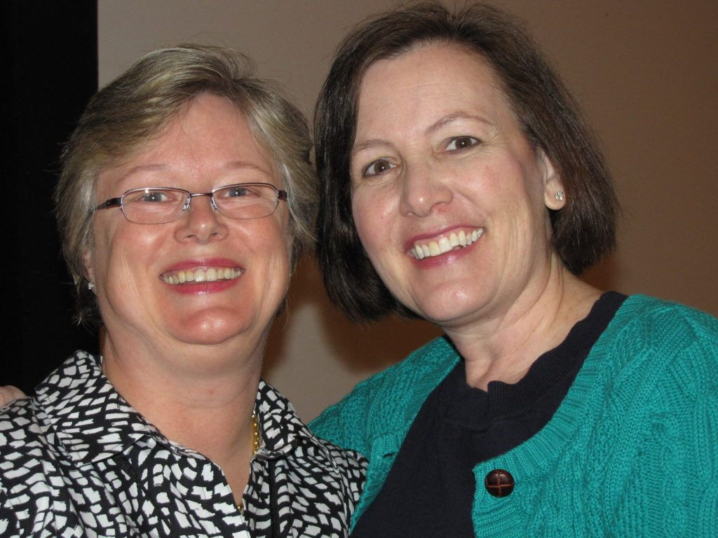 Diane Radford, MD with Julie Silver, MD at the Harvard Medical School CME leadership and publishing course this year.