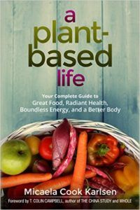 a plant based life book cover