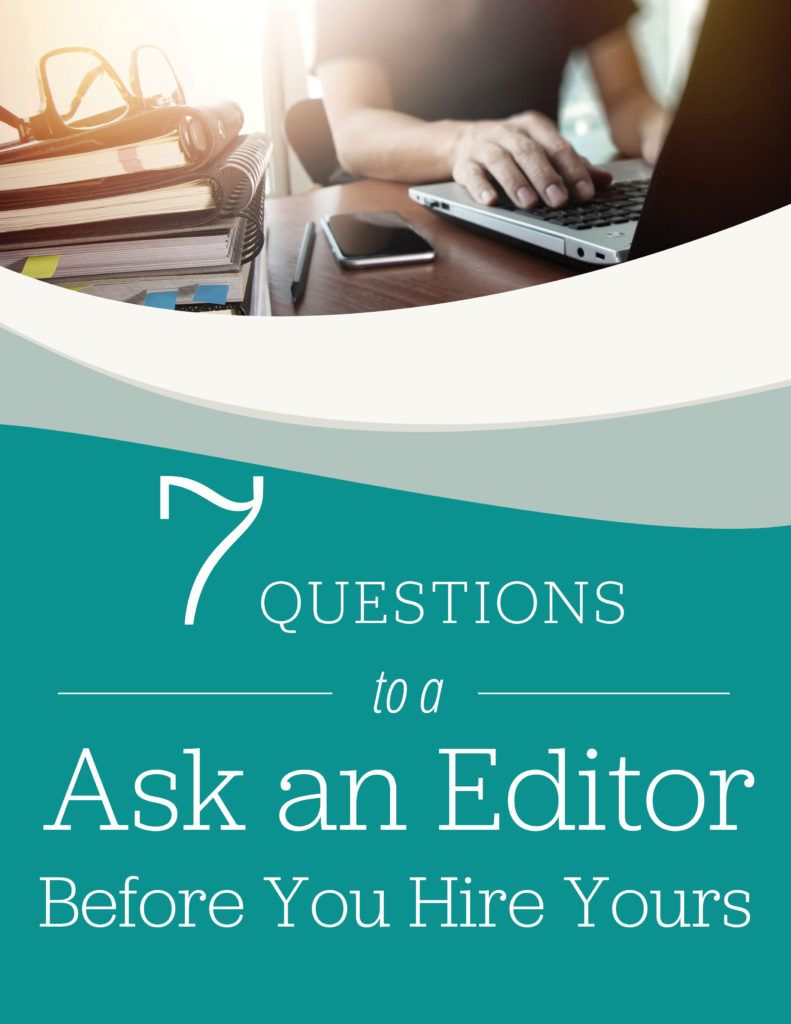 insecure about writing? Hire an editor