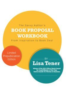 book proposal workbook