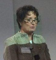 Martha Rhodes after writing a book.
