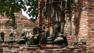 Buddhas at Ayutthaya