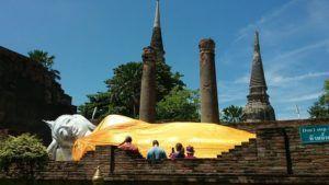 Reclining Buddha, Ayutthaya