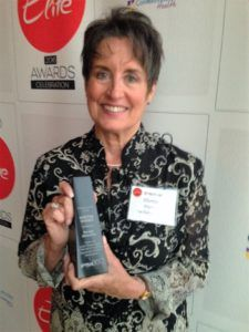 martha rhodes wins award