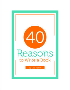 40 Reasons to write a book
