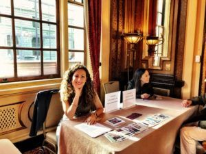 Dana Corriel, MD at Harvard Med publishing course