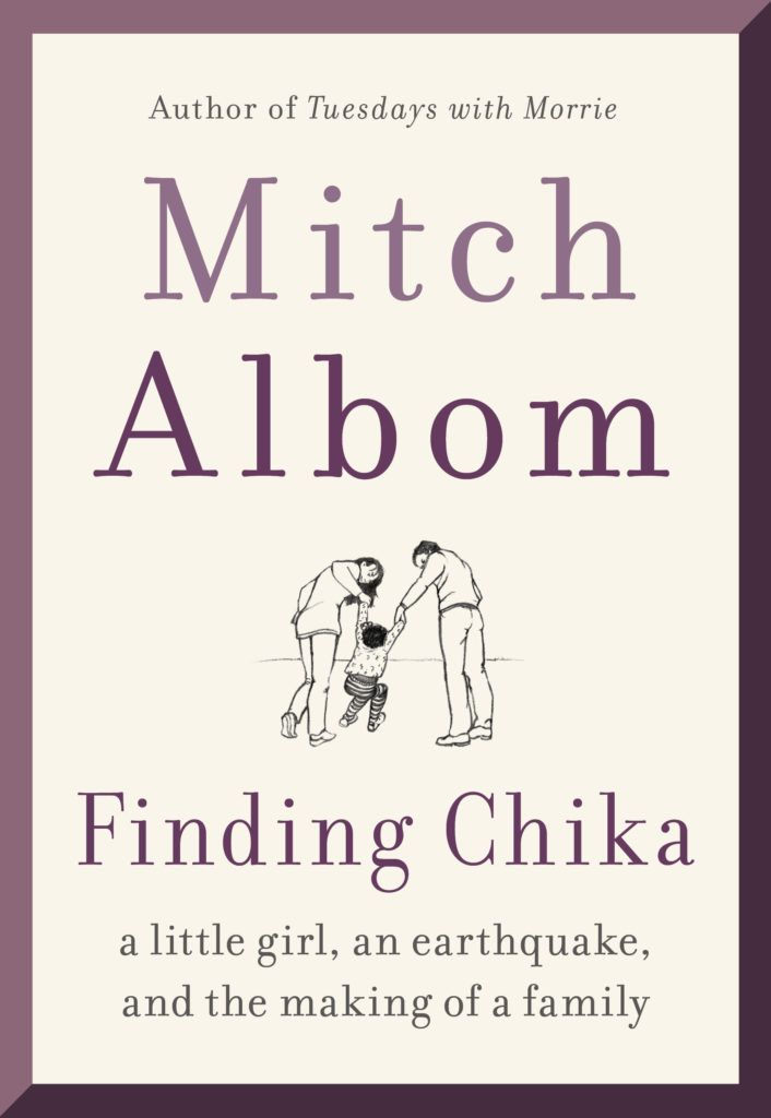 Finding Chika Book by Mitch Albom
