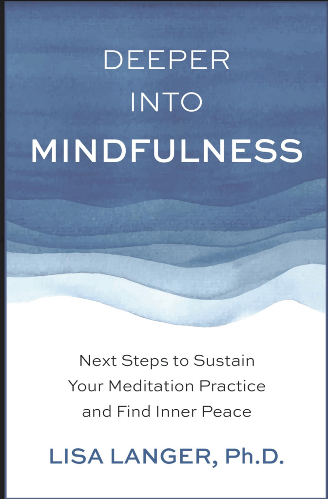 book cover deeper into mindfulness