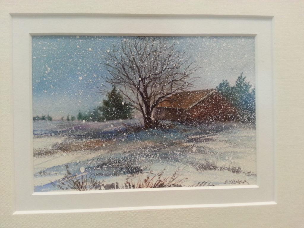 Elizabeth Tener painting