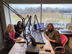 Lisa Tener radio with Gail Alofsin