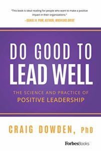book cover do good to lead well