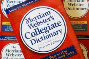 Miriam-Webster Dictionary