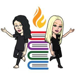 Jenna Blum and Caroline Leavitt of a Mighty Blaze