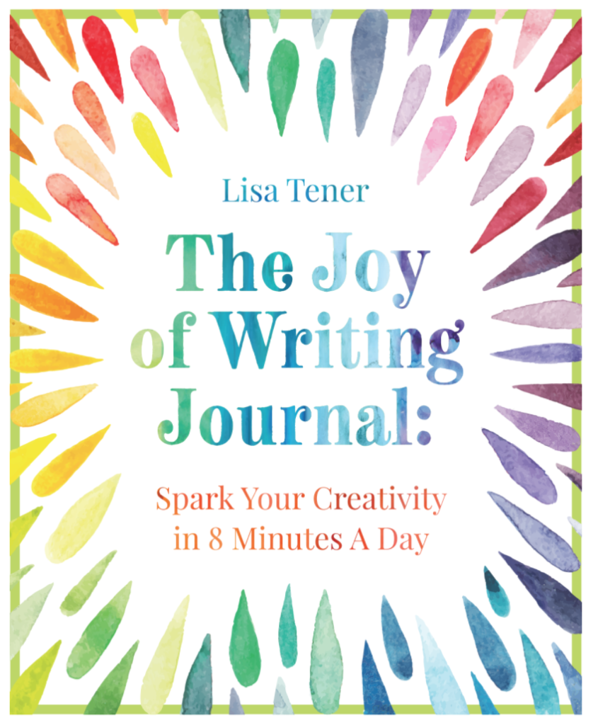 Book Cover: The Joy of Writing Journal: Spark Your Creativity in 8 Minutes A Day