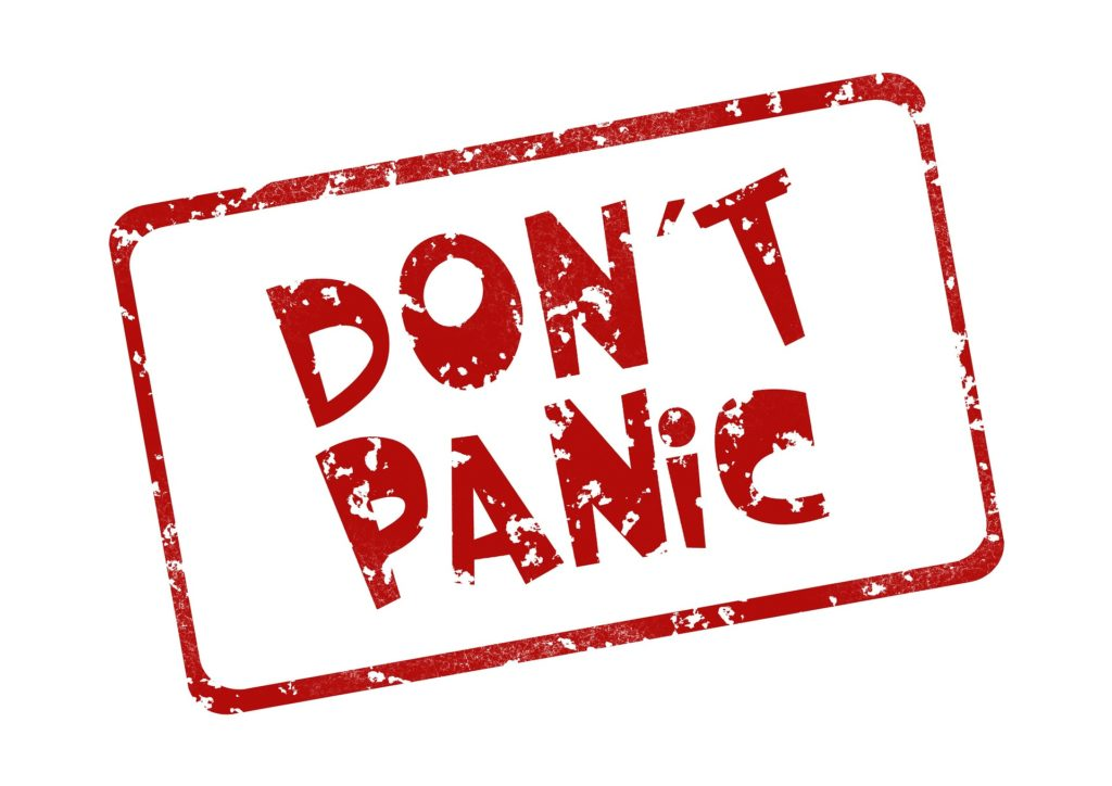 Don't panic before your book launch