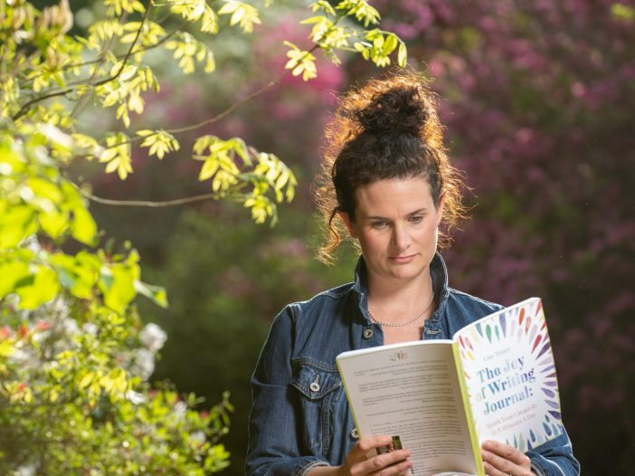 reading the joy of writing journal