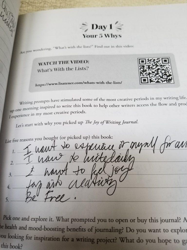 journaling entry